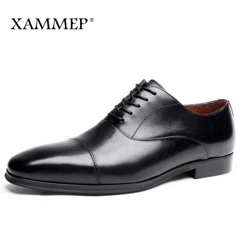 sports shoes f3bed 29681 Männer Kleid Schuhe Männer Business Schuhe Plus Große Größe Marke Gentleman  Echtes Leder 47 Männer Formale Schuhe Schuh Frühling Herbst Xammep