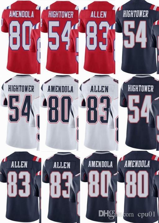 huge selection of a0f4c 4de88 Patriots custom men/youth/women #54 Dont Hightower 80 Danny Amendola 83  Dwayne Allen Vapor Untouchable Limited/rush/elite jerseys