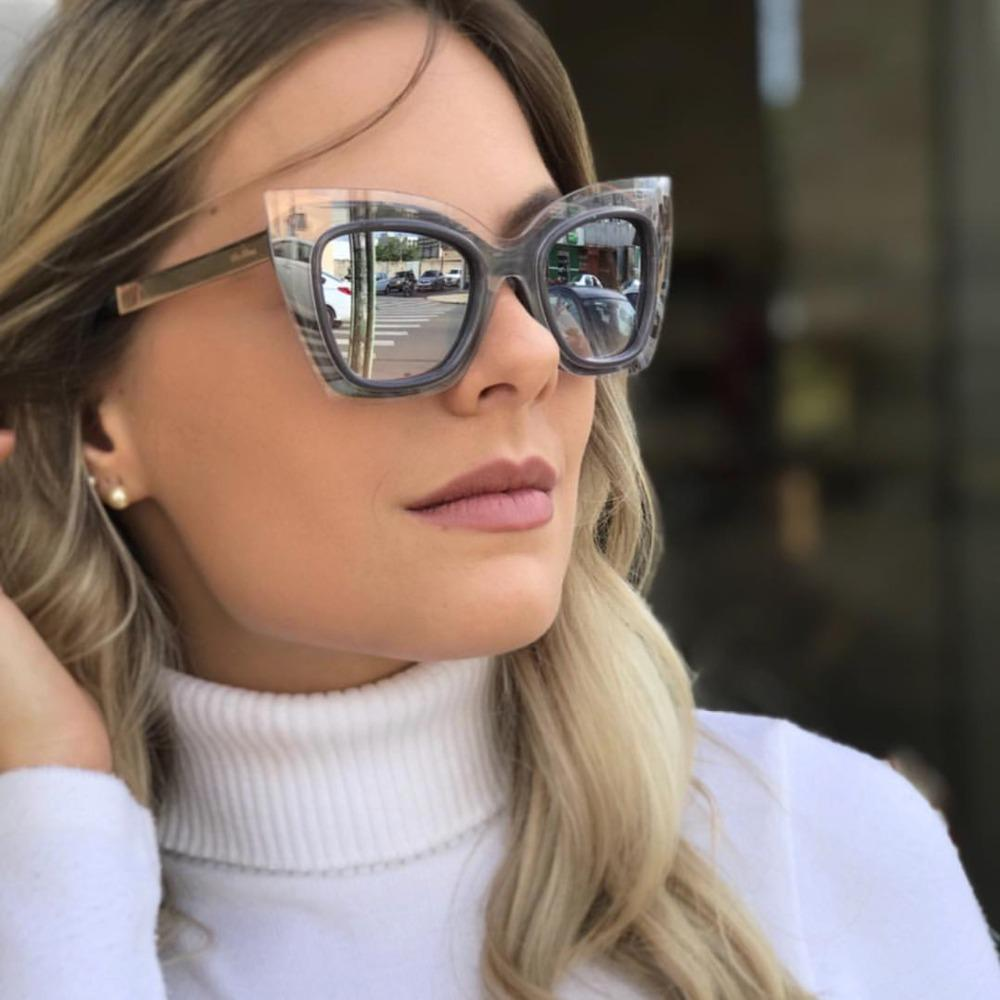 0bfaa7eb2e Wholesale Oversized Cat Eye Sunglasses Women Metal Leg Sun Glasses Vintage  Fashion Glasses Shades Brand Oculos Feminino Online with  26.98 Piece on ...