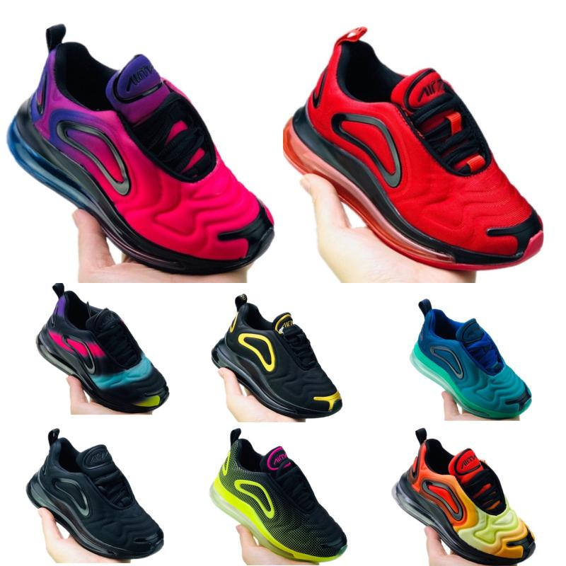 Nike Air Max 720 2019 Big boy shoes Kids 11 para hombre Zapatillas de baloncesto 11s Blackout xi Gana como 96 UNC Gana como Heiress Black Stingray Zapatos para niños
