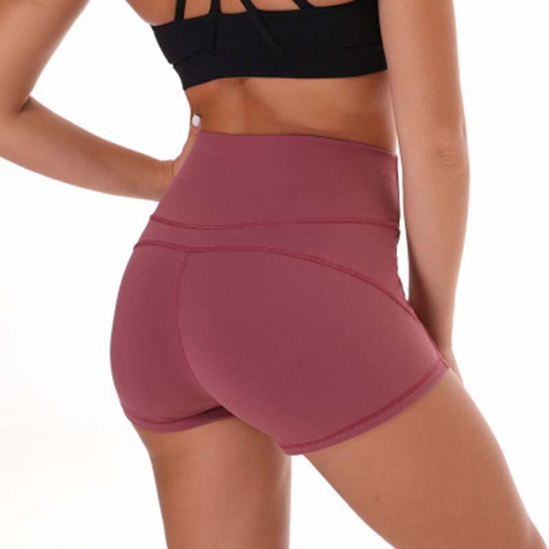 7a47b7272d 2019 High Waist Yoga Shorts Women Sports Leggings Fitness Yoga Cubes ...