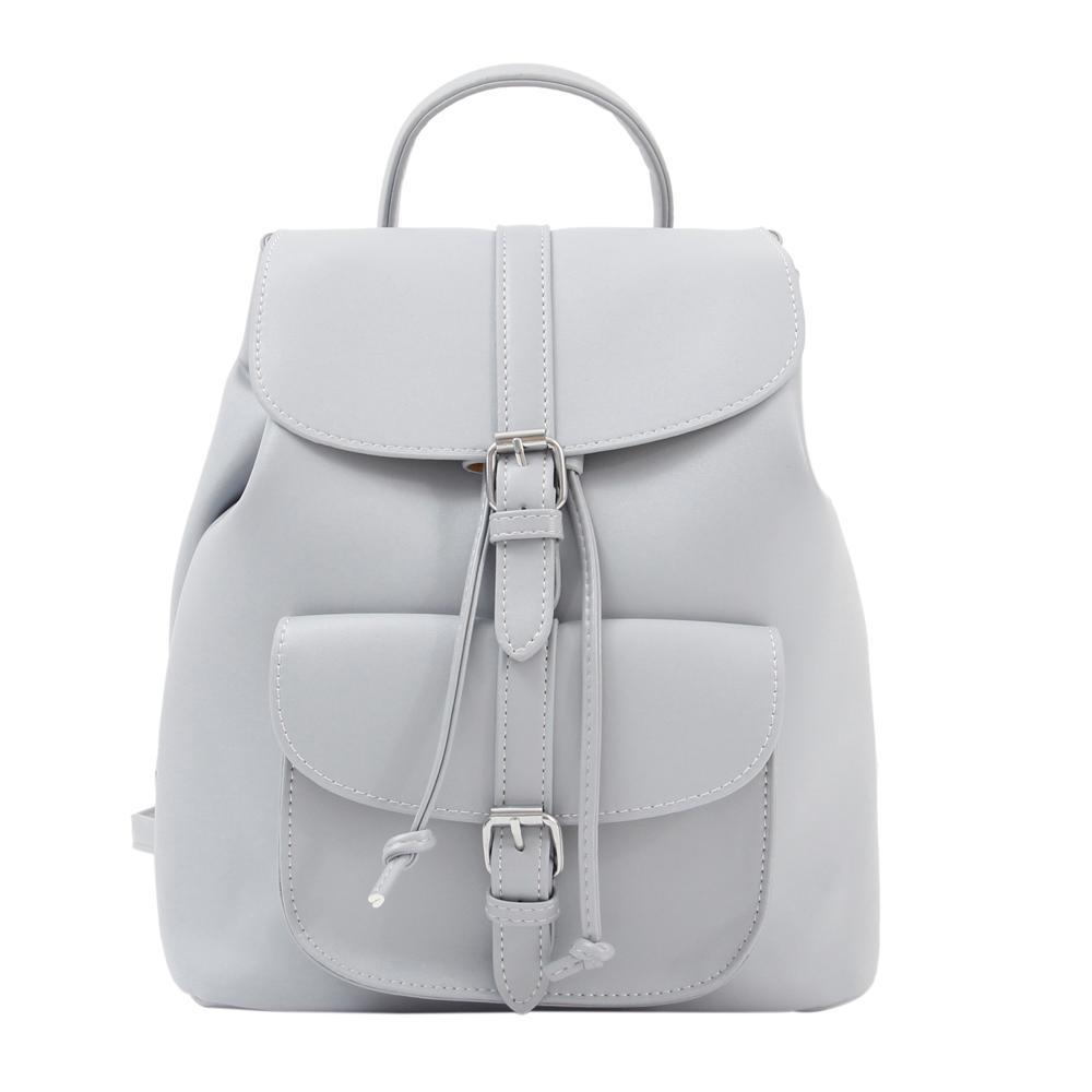 8109db294fa5c Satın Al Trendy Kadın İpli PU Deri Sırt Çantaları Genç Kızlar Küçük Okul  Çantaları Kadınlar Yüksek Kaliteli Rahat Sırt Çantası, $60.63    DHgate.Com'da