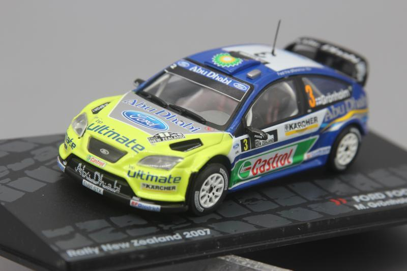 1 43 Ford Focus Rs Wrc 2007 Alloy Model Car Diecast Metal Toys Birthday Gift For Kids Boy Other