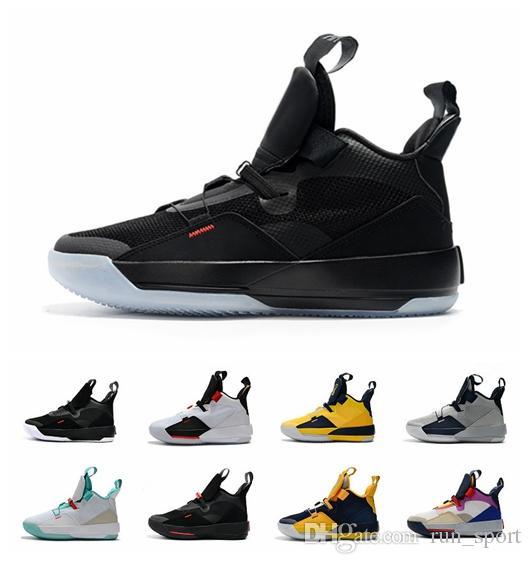 promo code 4032a 467cb Compre Nike Air Jordan 33 Retro Jumpman 33 XXXIII Utilitario Blackout  Visible Utility Pack Futuro Del Vuelo Prepárese Para Volar 33s PE Jade Guo  Ailun ...