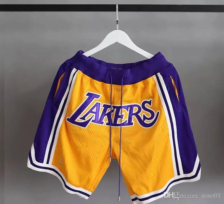 online retailer 37755 21650 Men's L.A.23 Lakerss LeBron James jersey just don 2018/19 Statement Edition  Swingman Basketball Shorts