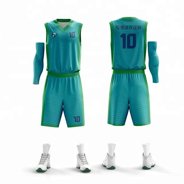 b35ba37a007 Sublimation Basketball Uniform Design Various Colors Basketball ...
