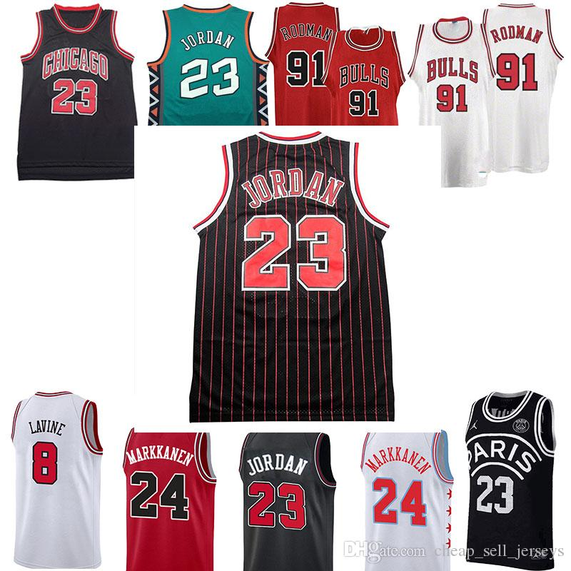 official photos 83fc2 04b24 new 91RODMAN 45 /23 MJ Retro jersey Men Bulls 33 PIPPEN Jersey basketball  Jersey men fans clothes