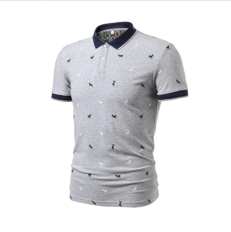 2a2a8ad8134 2019 2019 New Summer Men Polo Shirts Short Sleeved Casual Cotton T Shirt  Mens Outdoor Clothing Streetwear Poloshirt Striped Style From Recare