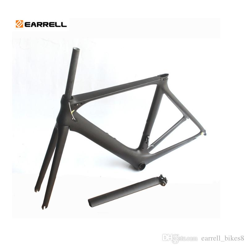 Carbon Road Bike Frame 2019 Di2 and Mechanical 50/53/56mm Super Light carbon road Frame+Fork+headset carbon bicycle frame