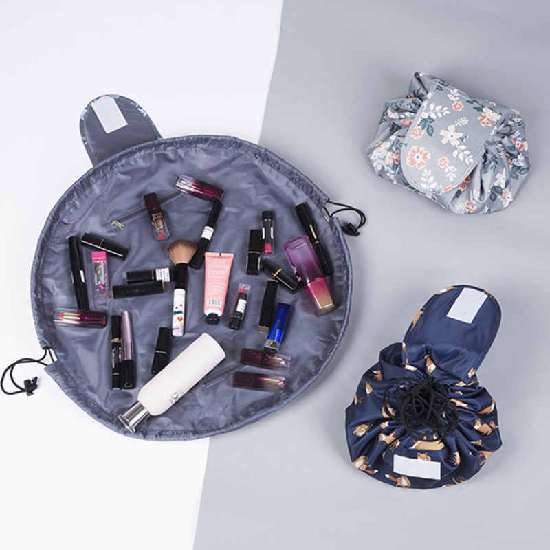5a7875dff471 Embroidery Cosmetic Bag Professional Drawstring Makeup Case Women Travel  Make Up Organizer Storage Pouch Toiletry Wash Kit Cheap Makeup Hand Bags  From ...