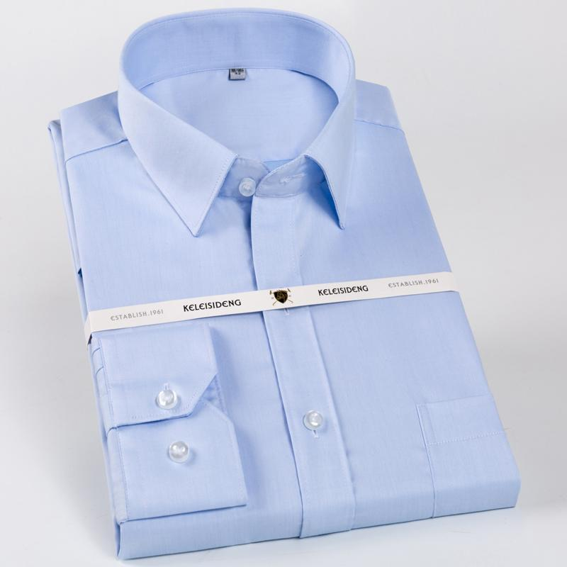 f9f0ac8086 Compre Camisa De Vestir De Manga Larga 100% De Algodón Para Hombres ...