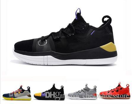 29828001f6c6 Kobe A.D. Mens Basketball Shoes Mamba Day EP Sail Multi Color AV3556 100 Kobe  AD Sports Sneakers Size 7 12 With Box Barkley Shoes Shoes Jordans From ...