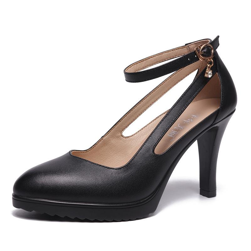 5c16c1ae5ec5 Size 32 43 2019 Women High Heels Shoes Spring Autumn Summer Fashion Thin  Heels Pointed Toe Crystal Pumps White Black Red Wedding Shoes Woman Pumps  Shoes ...