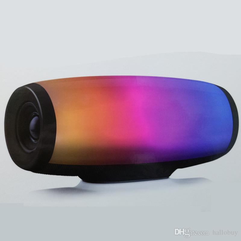 Z11 portable wireless Bluetooth speaker subwoofer colorful lights LED lights pulse card audio dual speakers high power speaker