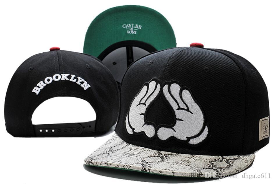 regard détaillé coupe classique mieux choisir Cayler & Sons Snapback Caps baseball Hat Brooklyn Arizona Cayler Sons  Luxury Brand Fashion Sports Casquette Gorras Caps hat for men women