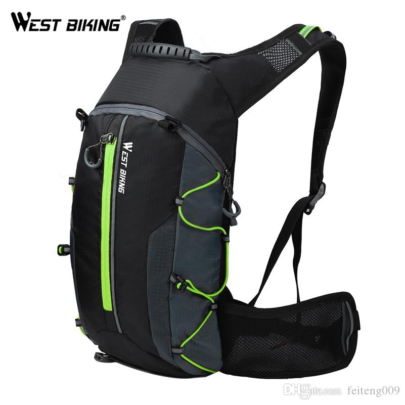 7023af2ad7a 2019 WEST BIKING 10L Ultralight Portable Folding Bicycle Backpack Pouch  Breathable Waterproof Hiking Rucksack Water Bag Bike Backpack #24691 From  Feiteng009 ...