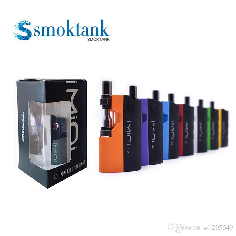 Imini tank thickened evaporator kit 500mAh box body battery can be matched with 510 thread interface cart Vape pen starter kit