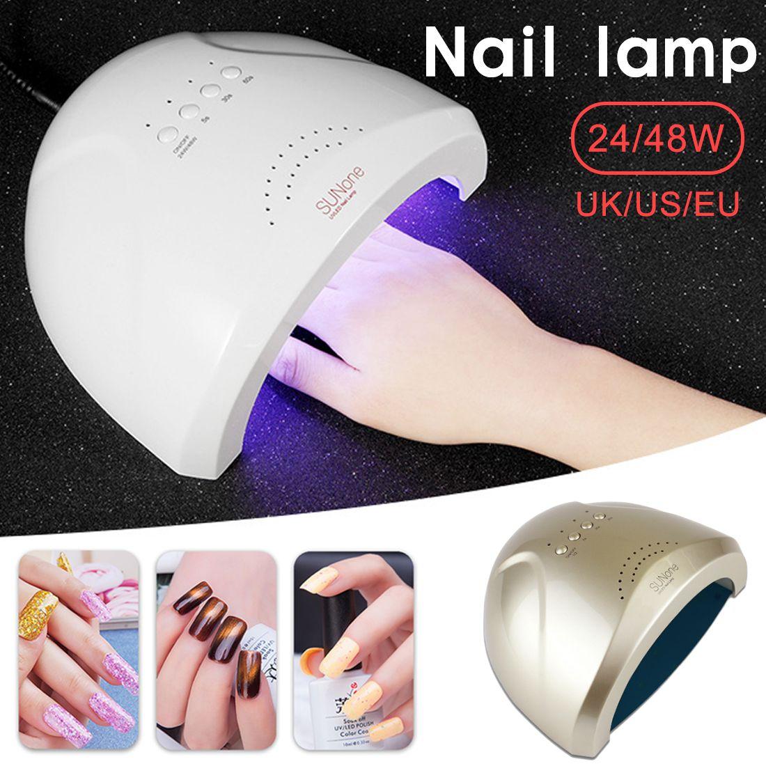 Dryer UV light UV nail drying lamp led nail phototherapy machine 48W  intelligent induction nail lamp quick-drying machine