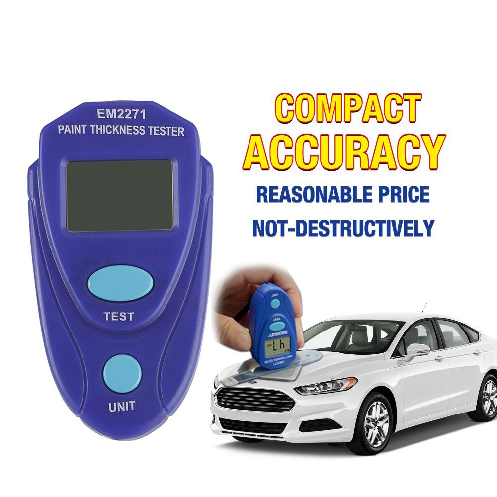 EM2271 Digital Painting Thickness Gauge Painting LCD Display Car Paint Tester Thickness Coating Meter