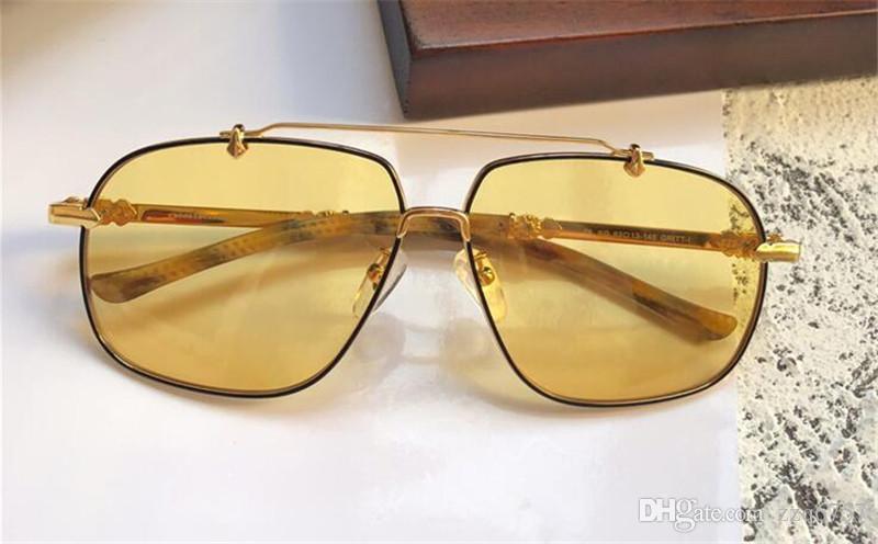 d143d1af1 Compre Novos Homens Marca Desinger Óculos De Sol GRITT New York Designer  Óculos De Sol Piloto De Metal Frame Revestimento Lente Polarizada Óculos De  Estilo ...