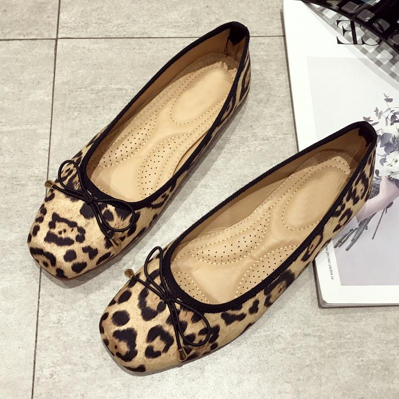 124b8ce2a878 2019 New Brand Spring Shoes Women Flats Slip On Woman Leopard Soft Ballet  Single Shoes Shallow Ladies Females Work Footwear 9 10 Buy Shoes Online  Slip On ...