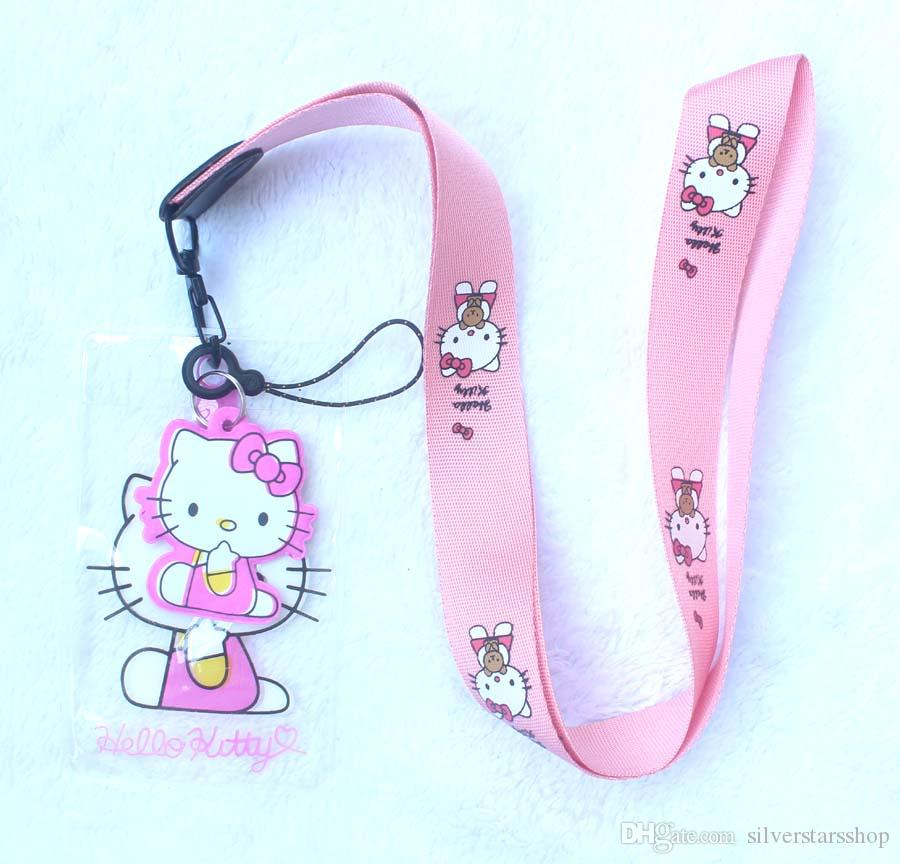 b48a1054d New Hot Cartoon Holle Kitty Logo Stitch Lanyard Neck Strap ID Card Badge  Bus Subway Holder Neck Phone Lanyard Online with $1.51/Piece on  Silverstarsshop's ...