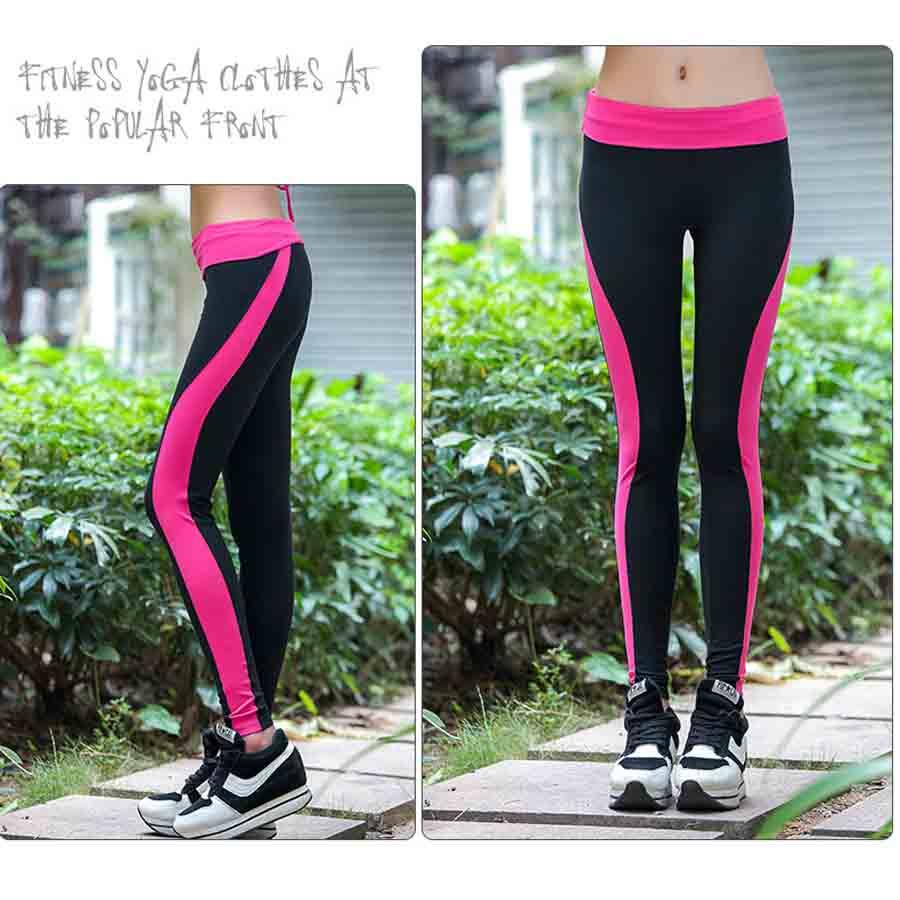 1a74cff5c6d324 2019 Hot Color Matching Matching Yoga Pants Women Push High Sports Leggings  Just Leggings Professional Fitness Sweatpants Running From Ixiayu, ...