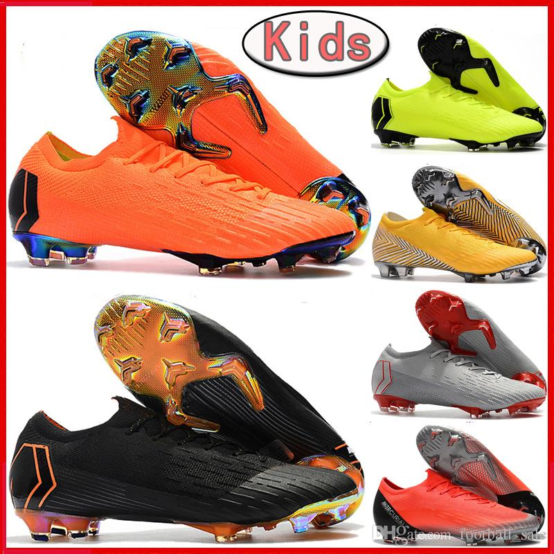 26d2818d831 NEW Kids CR7 Football Boots Mercurial Vapors VII 360 Elite FG Youth Boys  Soccer Shoes Superfly VI Mens Neymar ACC Outdoor Soccer Cleats Good Running  Shoes ...
