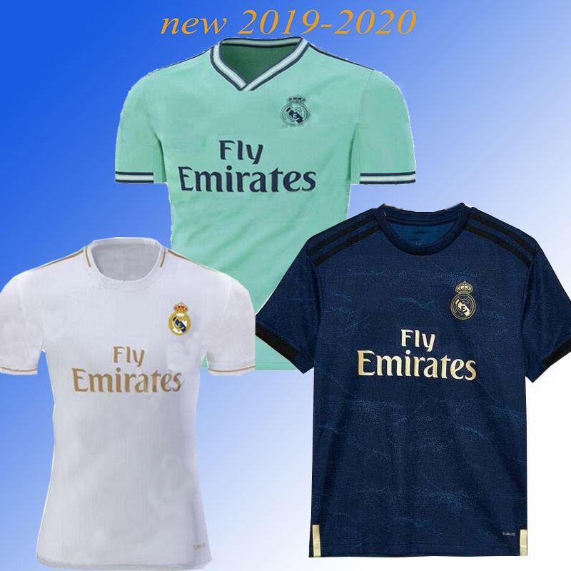 the latest 8b63b 88e14 2019 Maillot Vinicius Jr. Real madrid Jersey Benzema ASENSIO 2020 football  Soccer Modric Kroos Sergio Ramos Bale Marcelo Real Madrid shirts