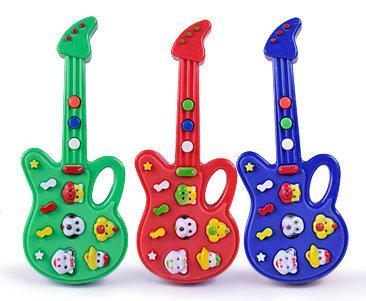 De Animados Guitarra Juguetes Nueva Juguete Alta Instrumentos Dibujos 10 Unids Calidad Niños Moda Música Musicales Eléctrica OPkiXuZ