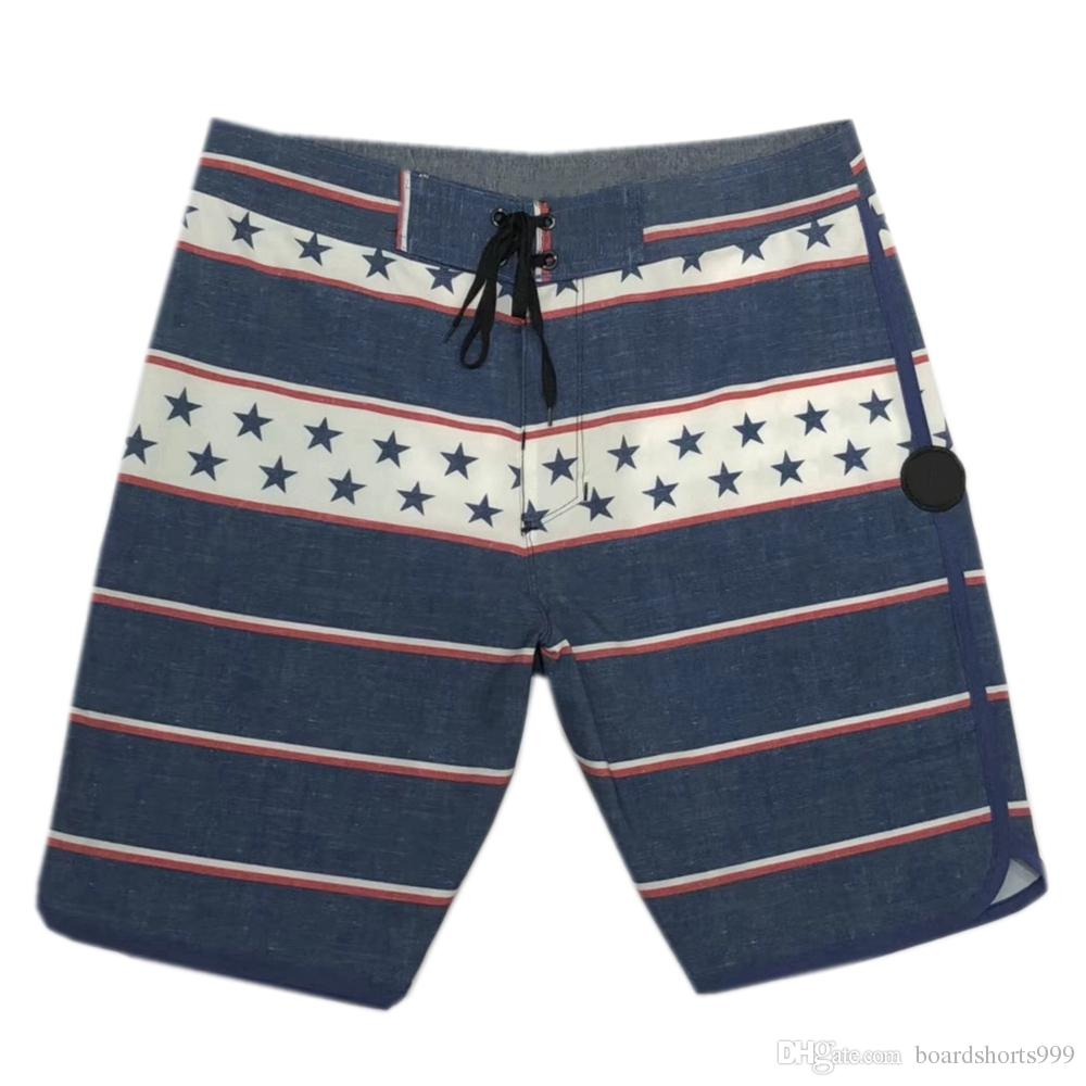 580a6b23a75 NEW 4Way Stretch Beachshorts Men's Boardshorts Elastane Spandex Swim Trunks  Surf Pants Board Shorts Black Bermuda Shorts Mens Casual Shorts