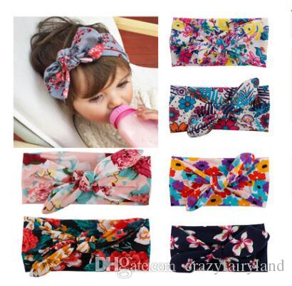 Designer Headband Baby Headbands Hair Accessories For Girl Rabbit Floral  Elastic Fashion Baby Headbands Bohemia Luxury Baby Accessories Cute Little  Girl ... 16a11170cf8