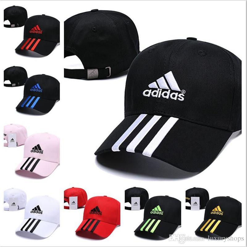 cheaper 41b0f 025a2 Compre Adidas Hat Cap Alta Calidad Venta Al Por Mayor Sombrero Para El Sol  De Los Hombres De Primavera Y Verano Mujer Gorra Visera Deportes Gorra De  Béisbol ...