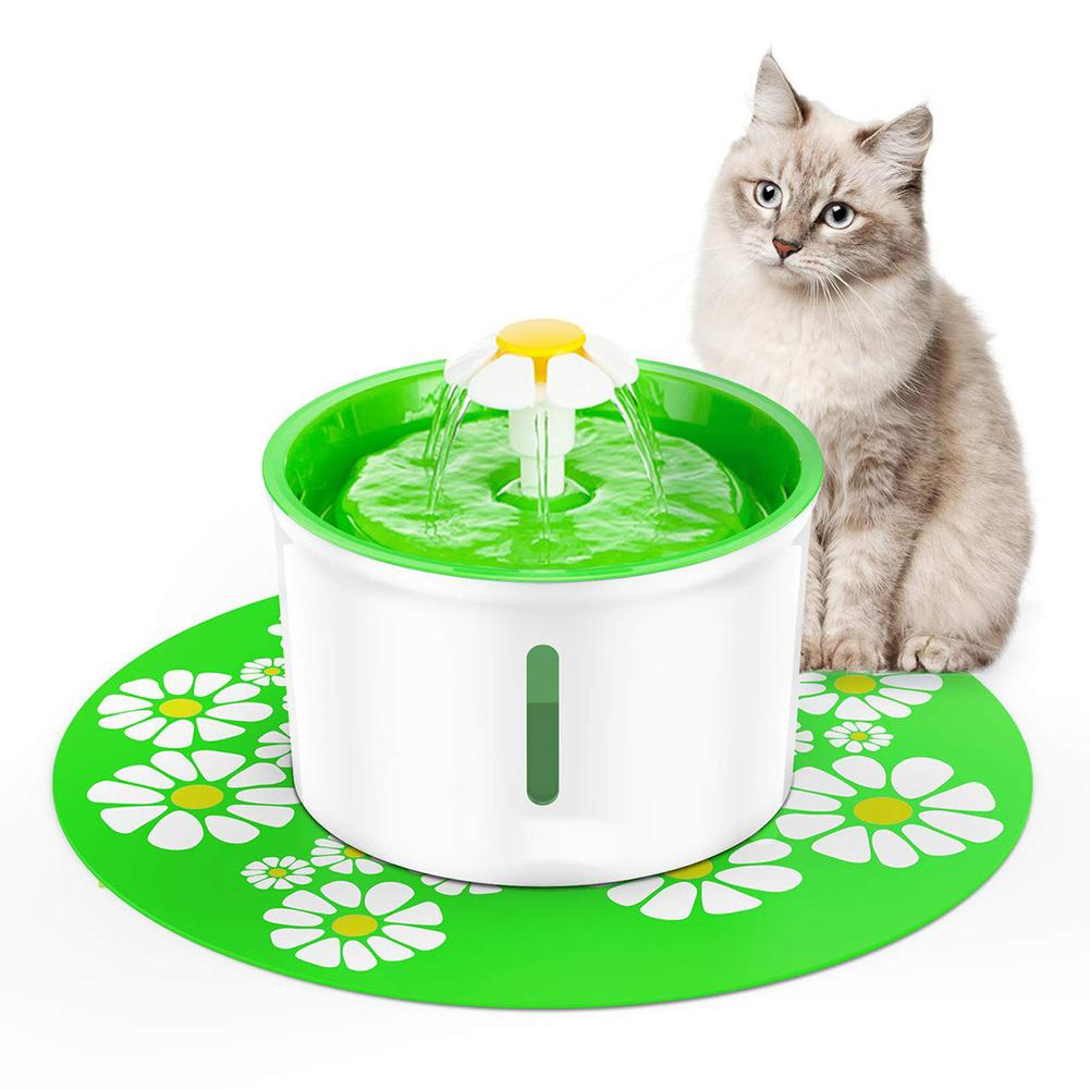 Fontana di gatto che beve 1.6L Automatic Pet Water Fountain Pet Water Dispenser Dog Cat Salute Caring Fountain Water Feeder