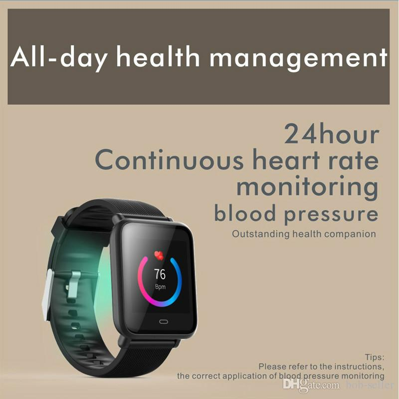Q9 Smart Bracelet 1 3TFT HD Blood Pressure Oxygen Heart Rate Monitor  Multi-Sports Mode Fitness Bluetooth Wristband PK band