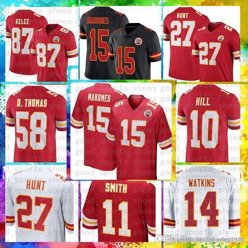 633364c53 Cheap 15 Patrick Mahomes II Jersey Kansas City Chiefs 87 Travis ...