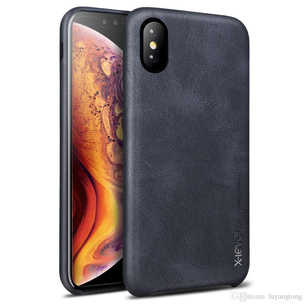 0b770875054 Carcasas Para Celular X Level IPhoneX XR Funda De Cuero PU Para Iphone XS  Max Case Carcasa I Phone XR Phone Cases Carcasa Celular Por Luyangtong, ...
