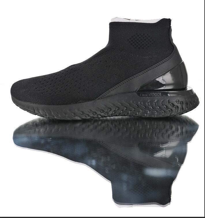 c2b1162c07 2019 Best Sellers Casual Rise React Flykint Sock Shoes Speed Ultra-light  Jogging Shoes Black Fashion Socks Sneaker SIZE 36-44