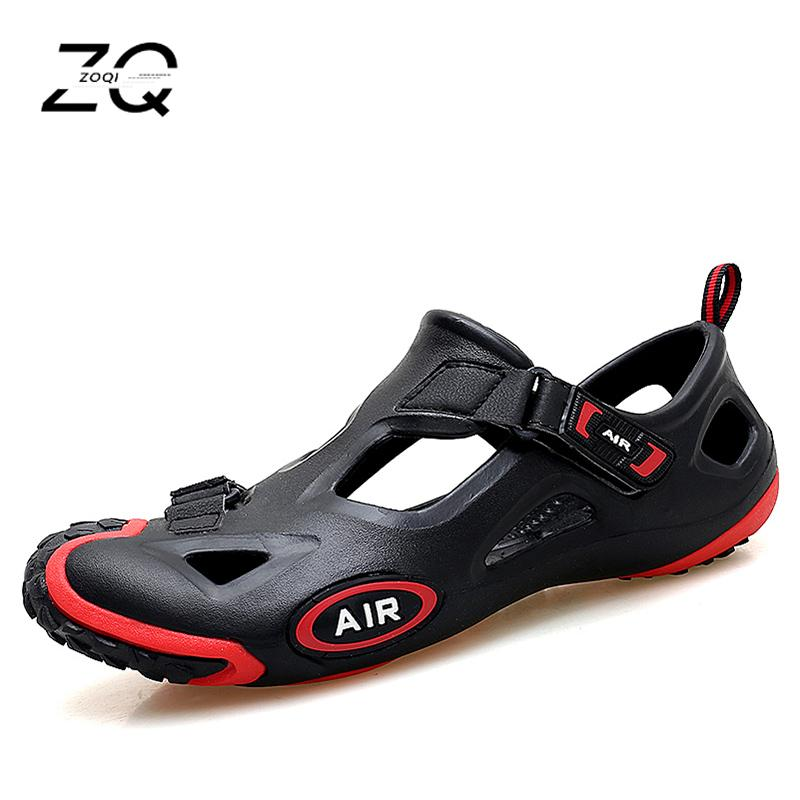 New Summer Beach Shoes Men Outdoor Sandals Men's Hot  shoes Water Slippers Lesiure Platform Sandals And Slippers Big Size 44