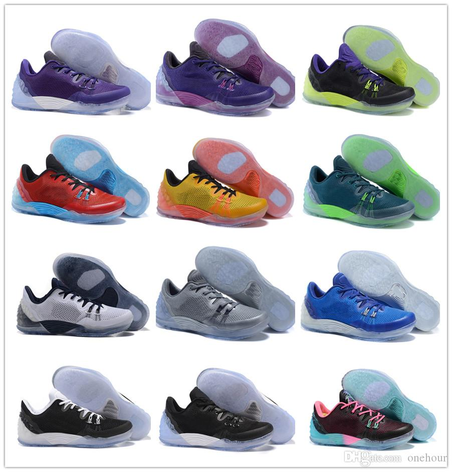 5ce7f2e79fa7 Venom Kobe 5 Venomenon Zoom Joker Lob City South Beach University Gold  Purple Men Basketball Shoes KB 5 EP Sports Shoes More Colour Athletic Shoes  Shoes ...