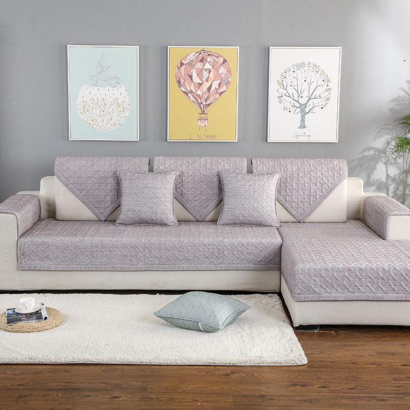 Stupendous Anti Dirty Non Slip Sofa Cover Pet Dog Mat Cushion All Inclusive Removable Multi Size Corner Sofa Towel For Sectional Interior Design Ideas Gresisoteloinfo