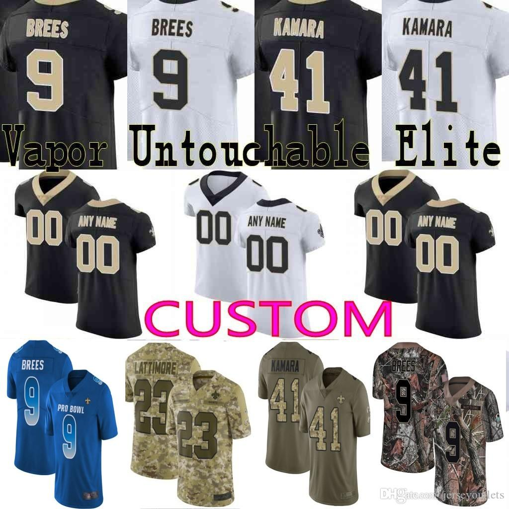 Custom Men Youth Women New Alvin Kamara Drew Brees Michael Thomas ... c94073b7f