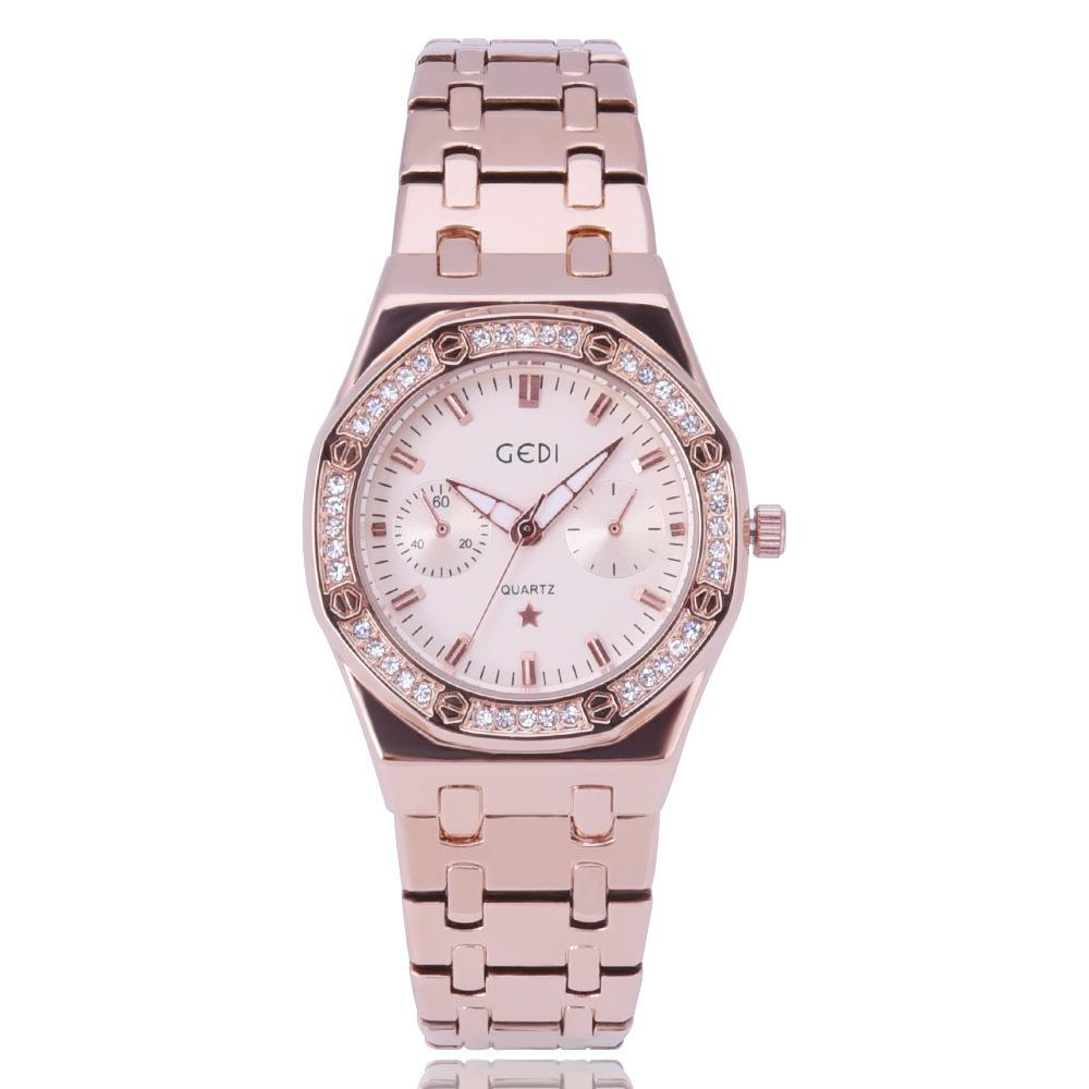 2019 New Fashion Women Watches Luxury Sale Quartz Minion Watch Casual Full  Steel Dial Style Woman All Diamond Style Watches The Best Watches Discount  ... 20dbb8bd50