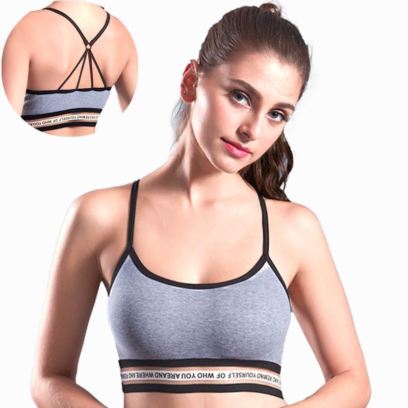 2019 Breathable Sports Bra Teenage Girls Student Yoga Running Vest Bra Sexy Back Womens Sport Vest Sv009 From Qingtongzhi Dhgate Com
