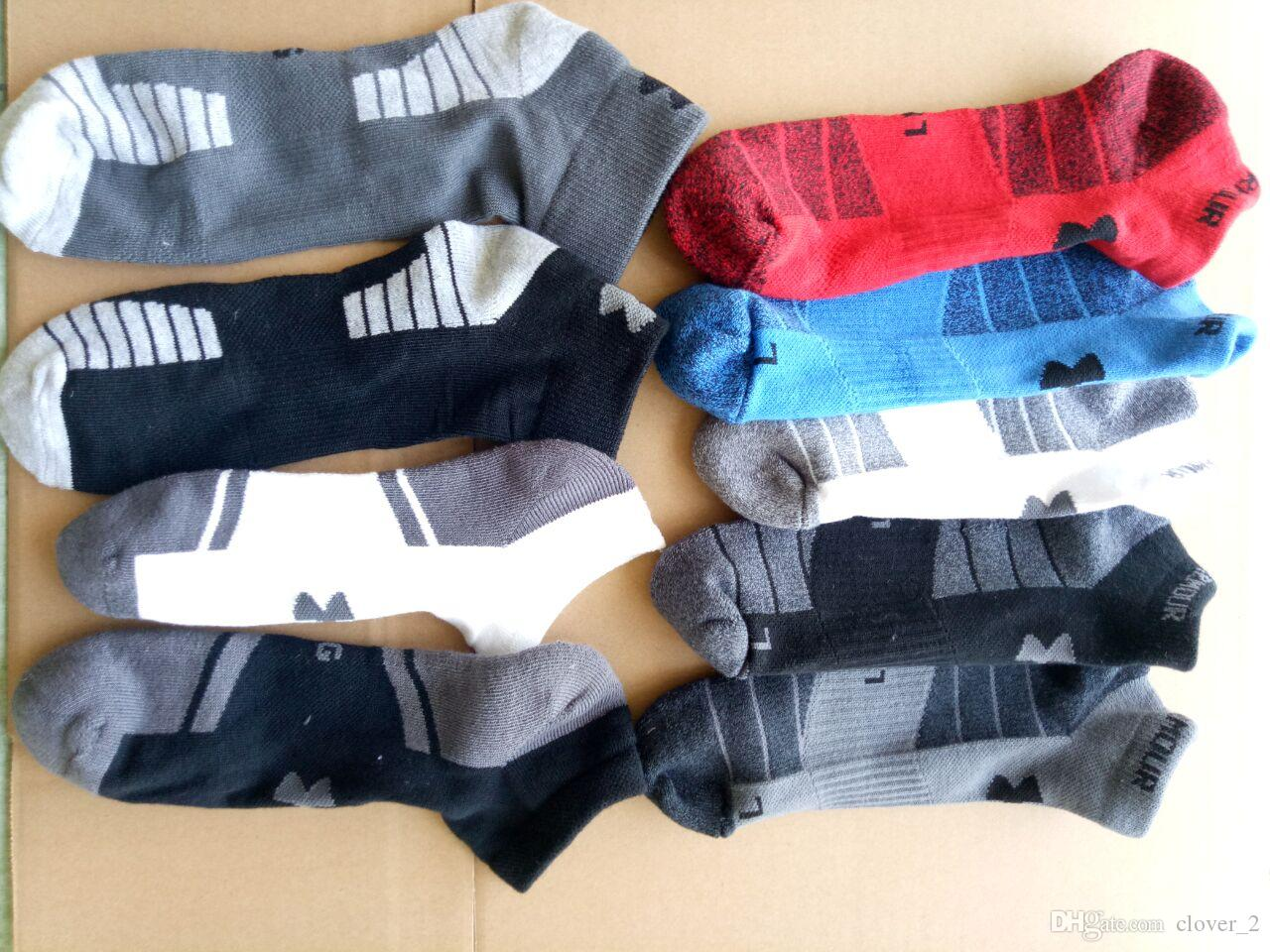 Men cotton blend socks short sport sock good elastic running outdoor socks breathable comfortable boat socks klws2