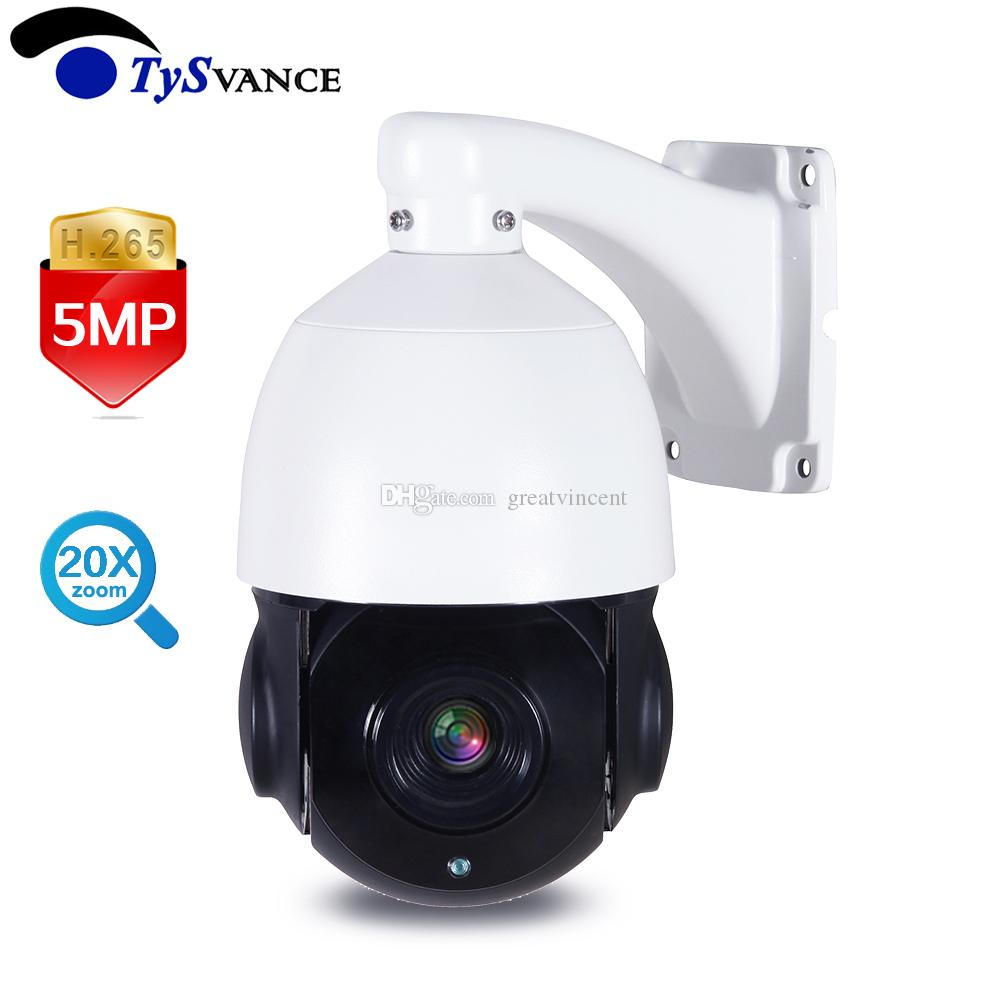 716bcd28ef5 5MP PTZ IP Camera Outdoor Onvif 20X ZOOM Waterproof Mini Medium Speed Dome  Camera H.265 IR P2P 5.0MP CCTV Security Surveillance UK 2019 From  Greatvincent
