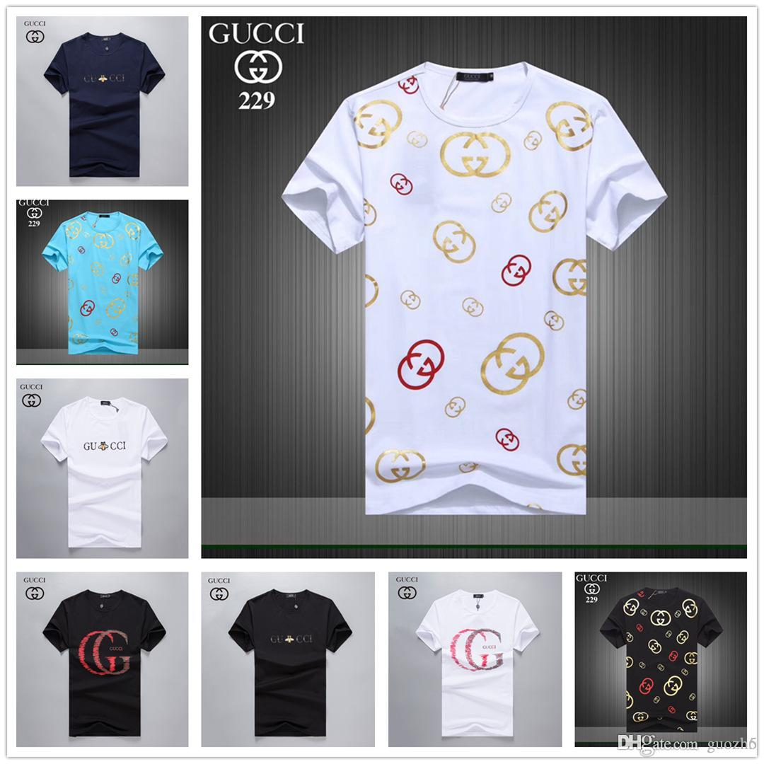 08d59336 19ss 2019 New Fashion Flora Snake Print Linen T-shirt 2018 Men's Medusa  Tshirts Summer Short Sleeve Casual Tops Luxury Designer Brand M