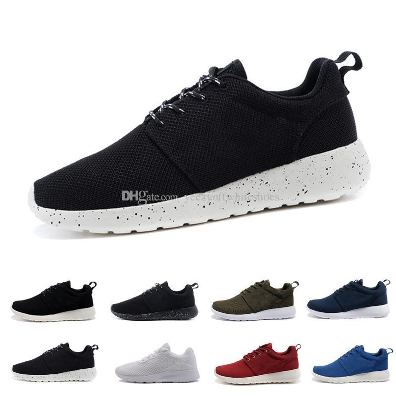 wholesale dealer 98338 0d98d Großhandel Billig TANJUN 3 RUN Schuhe Schwarz Weiß Rot Grau Sneakers Herren  Damen Sport Laufschuhe London Olympic New Jogging Herren Schuh Sneaker  Trainer ...