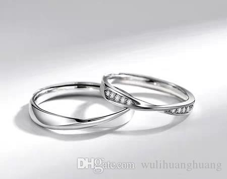 Lovers Ring A Pair Of Pure Silver Inseparable Ring Japan And South