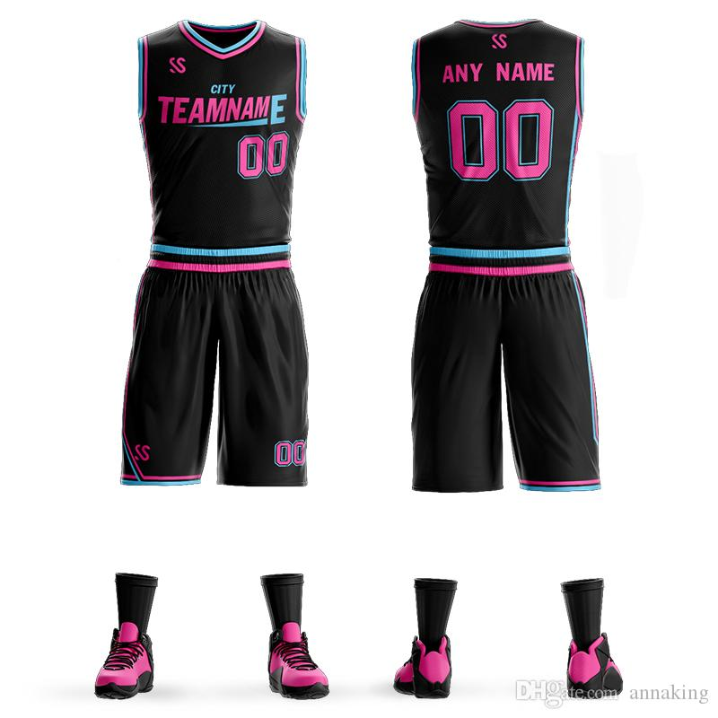 3a29a4ea607 2019 Mens Youth Kids Custom Design Your Sublimation School Basketball  Uniform Quick Dry Jersey From Annaking, $25.39 | DHgate.Com